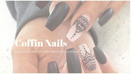 Coffin, or ballerina nails, are perfect for all nail addicts who prefer good design. If you want to see more, we have prepared a gallery full of nailart.