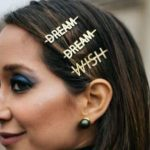 Send a message with your hair clips