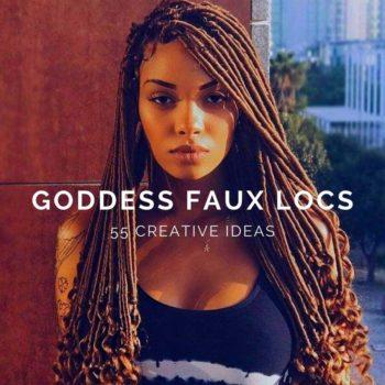 Goddess Faux Locs