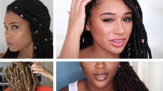 4 tutorials on how to do goddess locs