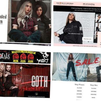 Edgy stores for women's fashion