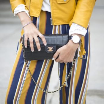 Retro street style outfit