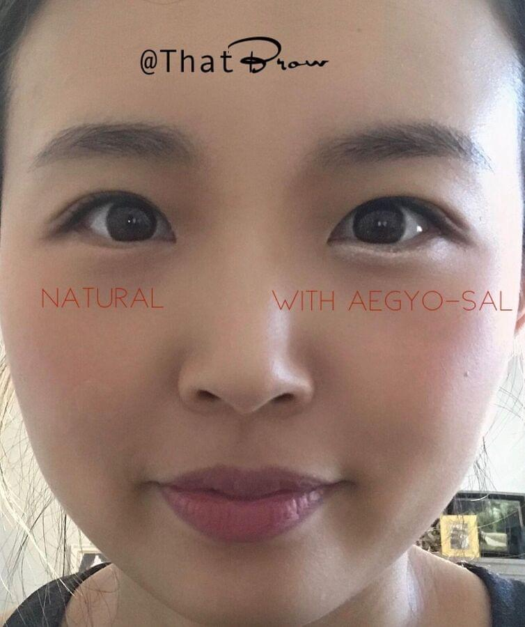 Aegyo-sal Asian eye makeup