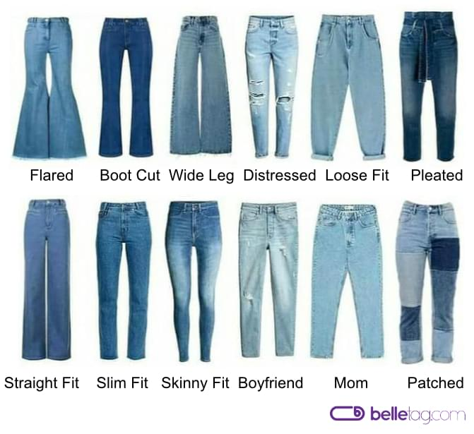 Jeans Styles Guide